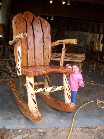 Large Juniper Rocking Chair